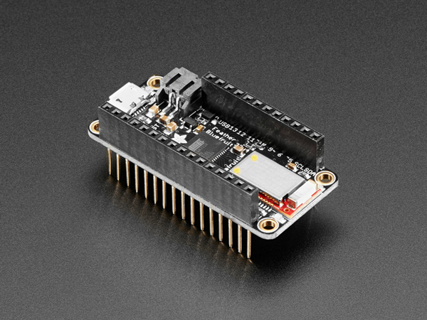 Adafruit Feather 32u4 Bluefruit LE with Stacking Headers - Assembled  [ada-3242]
