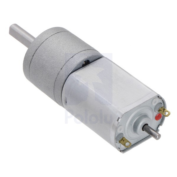 100:1 Metal Gearmotor 20Dx44L mm 12V CB with Extended Motor Shaft