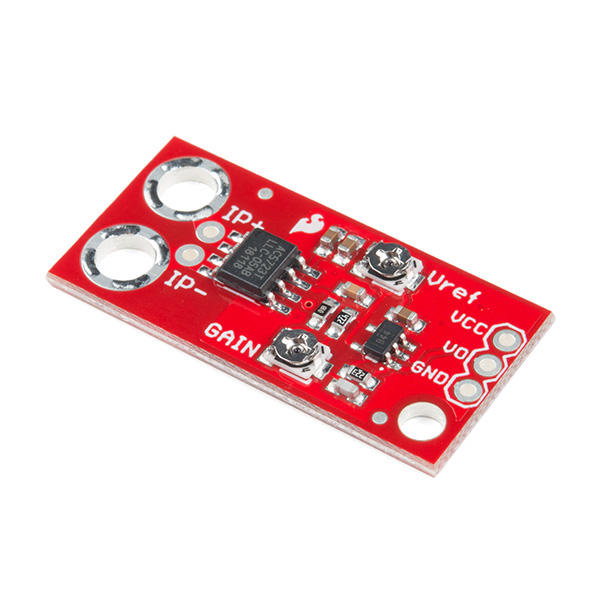 스파크펀 전류센서 모듈 SparkFun Current Sensor Breakout - ACS723 (Low Current) [SEN-14544]