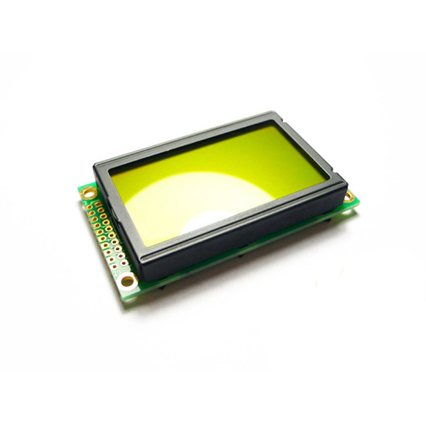 Graphic LCD 128*64 (KS0108 ctrl) - D.Blue and Yellow Green [104990010]