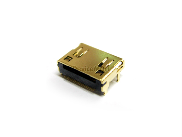 Mini HDMI 19P female SMT (HD19S-NT112602)