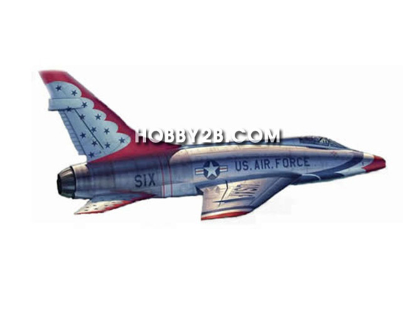 [프라모델]1/32 F-100D in Thunderbirds livery
