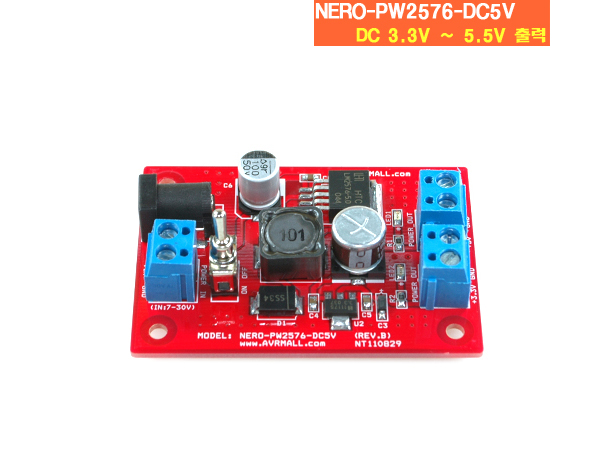 NERO-PW2576-DC5V Power Board
