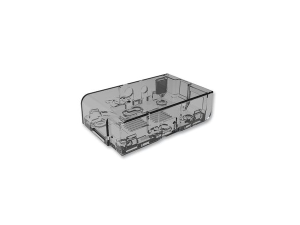 라즈베리파이 ABS 케이스 투명 / MC-RP001-CLR