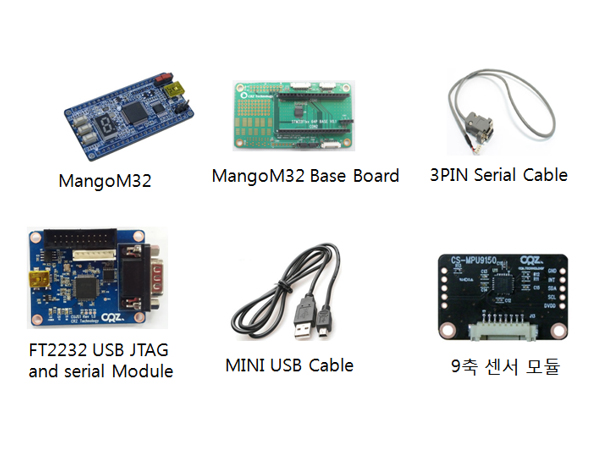 MangoM32 9 Axis(Gyro+Accelerometer+Compass) Package  1