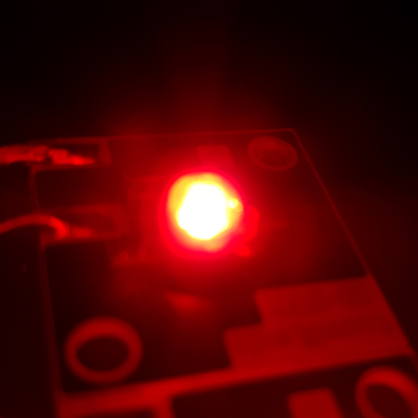 Luxeon Star/C LED - Red Batwing, 42lm 350mA