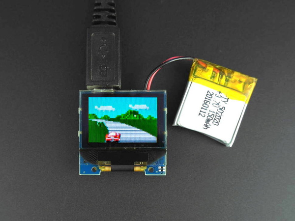TINYSCREEN+ (PROCESSOR, OLED & USB IN ONE)