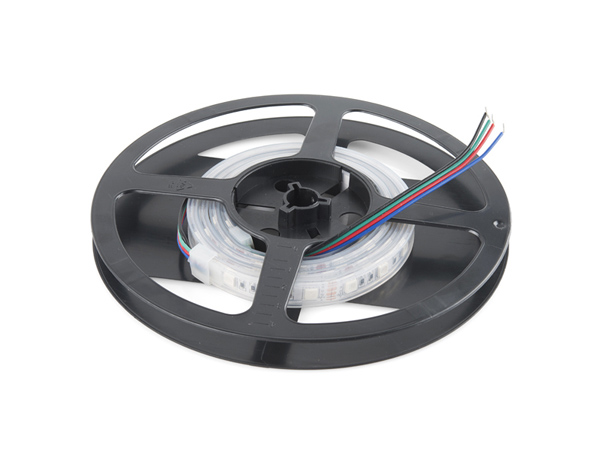LED RGB Strip - Sealed (1m) [COM-12023]