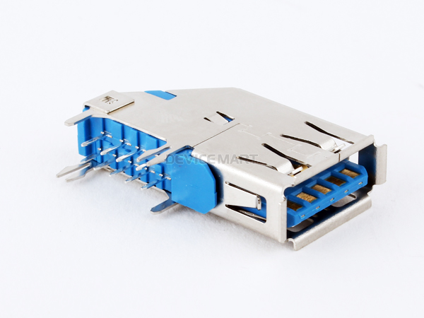 USB 3.0 A/F Right-angle Side entry 커넥터 [NW3-USBC-011]