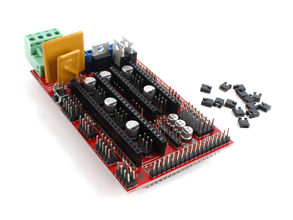 RAMPS 1.4 3D 프린터 컨트롤 실드 for Arduino Mega 2560 [SZH-EKBG-037]