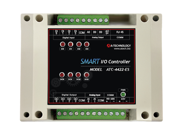 SMART IOT Controller (Ethernet+Bluetooth) [ATC-4422-EB]