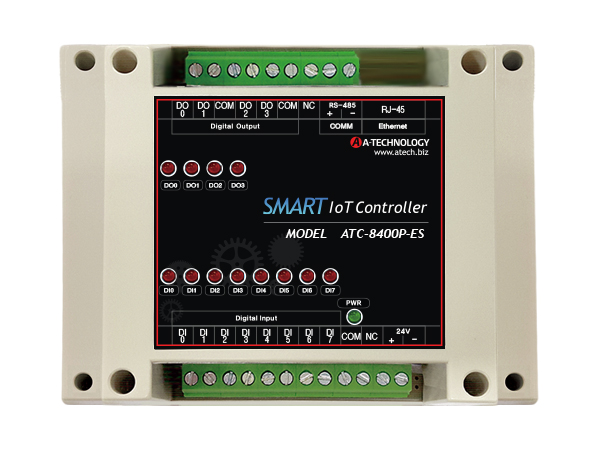 SMART IOT Controller (Ethernet+Serial) [ATC-8400P-ES]