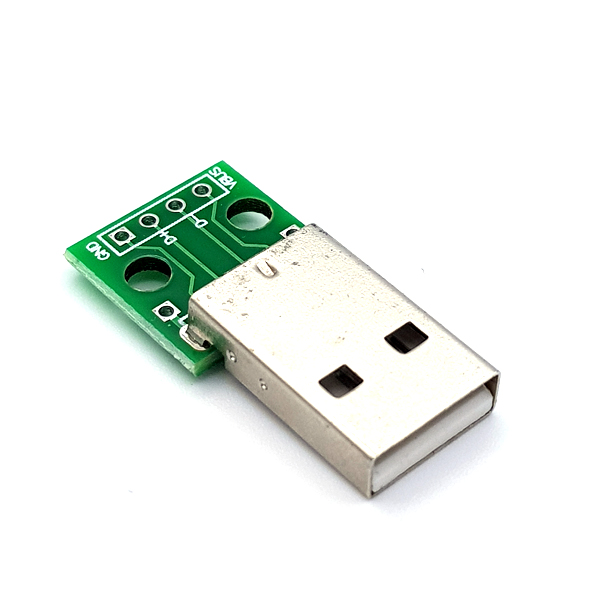 USB2.0 M Type to DIP Adapter Board [SZH-EP115]