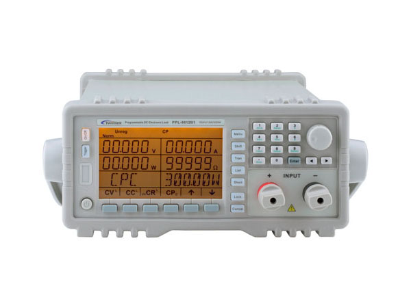 500V/15A Programmable DC Electronic Load, 1채널 전자부하기 [PPL-8612B1]
