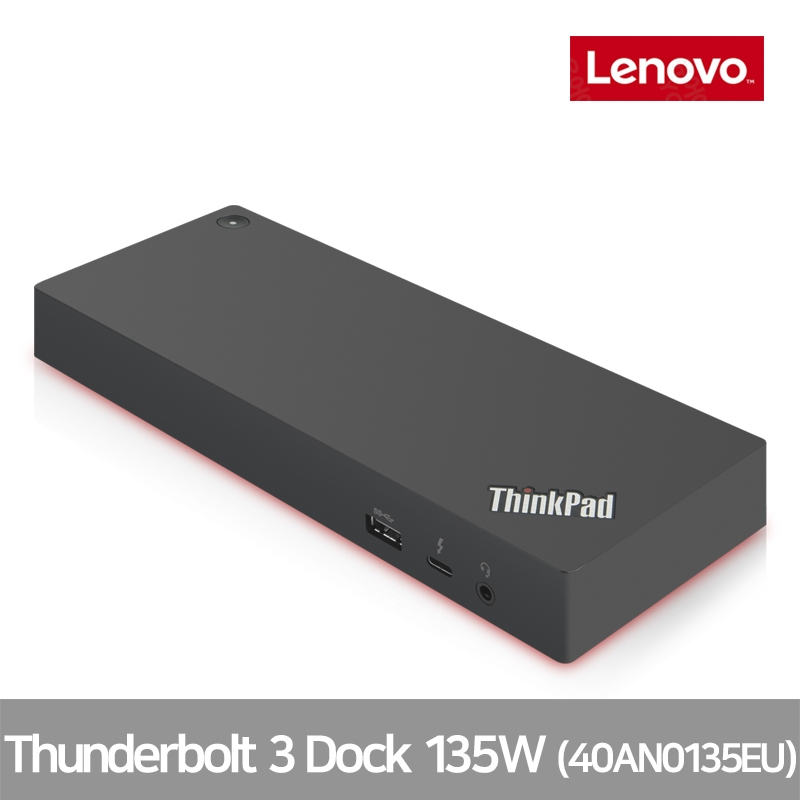 [디지탈노뜨 정품][40AC0135EU] Lenovo ThinkPad Thunderbolt 3 Dock