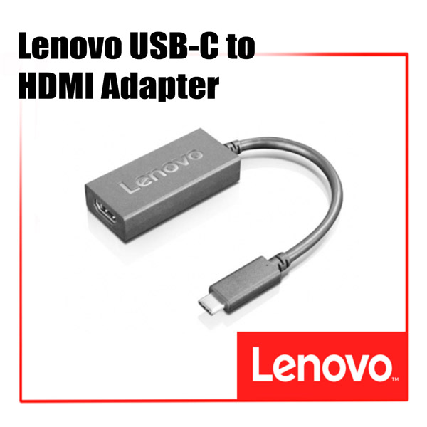 [디지탈노뜨 정품][4X90M44010] Lenovo USB-C to HDMI Adapter