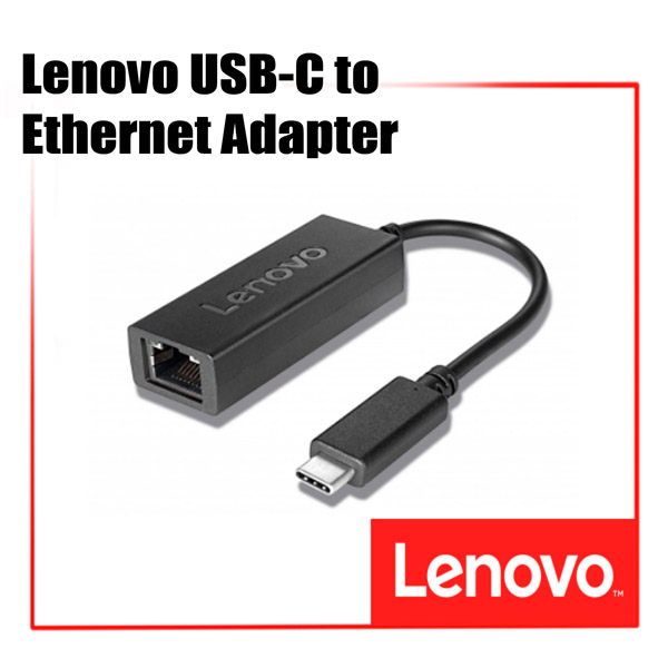 [디지탈노뜨 정품][4X90L66917] Lenovo USB-C to Ethernet Adapter
