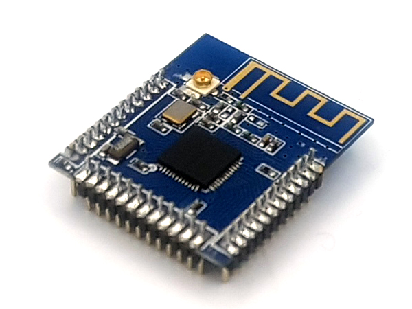 nRF51822 bluetooth 4.0 BLE SoC 탑재 / 저전력, 고성능 / 32-bit ARM Cortex M0 processor / Operating voltage: 1.8V~3.6V / Size: 25.1mmx21.5mm