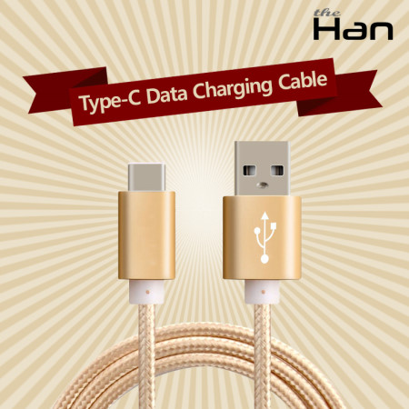 Type-C Data Charging Cable(C타입 케이블) (골드) [TCA-CU1001_GD]