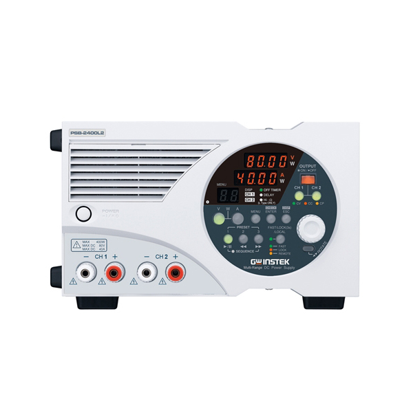 2CH 스위칭 DC 전원공급기, Programmable Switching DC Power Supply [PSB-2400L2]