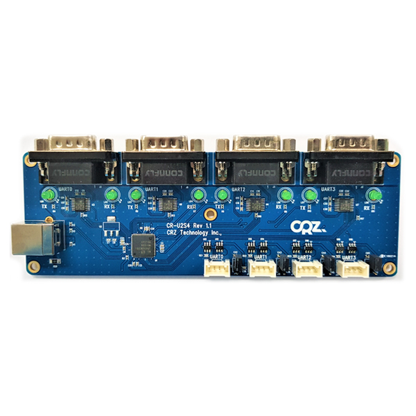 CR-U2S4 [USB to 4 RS232 Serial Port Converter]