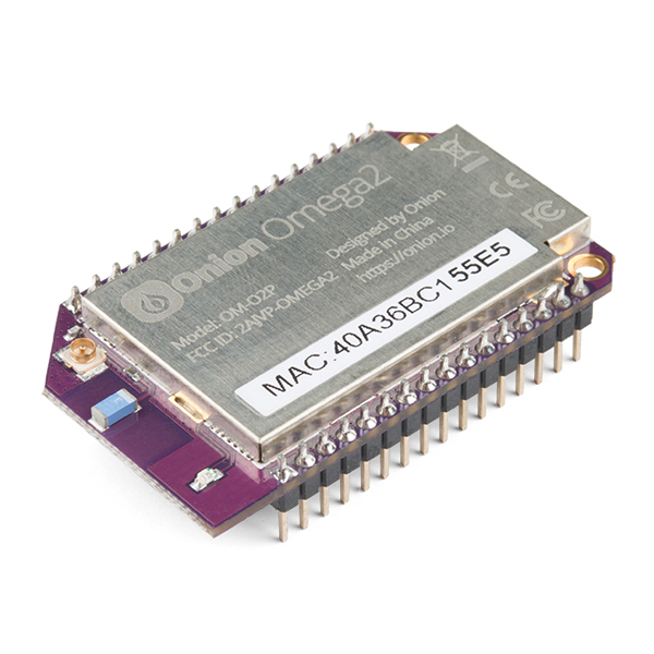 초소형 IoT 컴퓨터 어니언 오메가2 보드 Onion Omega2 IoT Computer [ONI-01], Omega2 IoT 컴퓨터는 하드웨어 응용 프로그램을 만들 수 있도록 설계된 Onion의 최상위 Linux 기반 WiFi 개발 보드입니다./580MHz MIPS CPU/3.3V 작동 전압