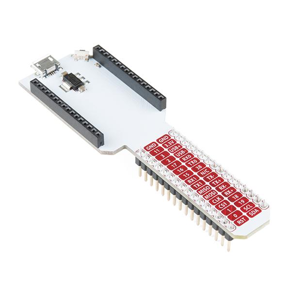 오메가2용 브레드보드 확장도크 Breadboard Dock for Onion Omega [ONI-03], 모든 Pin을 표준 0.1 간격으로 매핑하여 브레드보드 프로젝트의 오메가 IO를 모두 액세스 할 수 있도록 Onboard Omega에 브레드보드 호환성을 제공합니다.