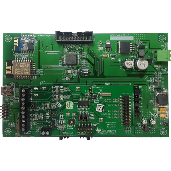 ADAC Board(HFA-001) + ADS1263EVM 개발 키트