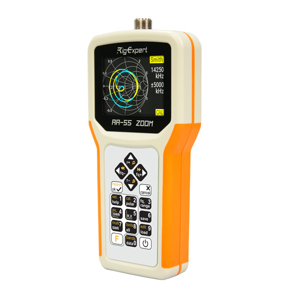 RigExpert VHF 안테나 분석기 -0.1 to 230 MHz, 줌기능 (RigExpert AA-230 ZOOM)