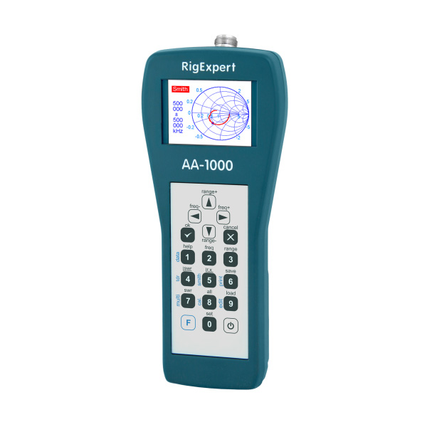 RigExpert UHF 안테나 분석기 -0.1 to 1000 MHz (RigExpert AA-1000)