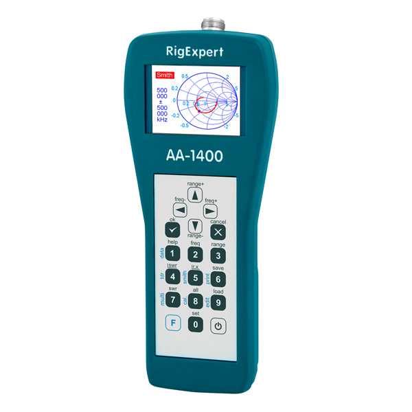 RigExpert UHF 안테나 분석기 -0.1 to 1400 MHz (RigExpert AA-1400)