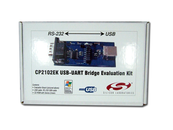 CP2102EK USB-UART Bridge Evaluation Kit,