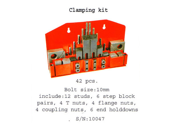 (10047)clamping kit ( 42 pcs.)