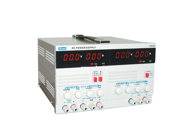 DC POWER SUPPLY K-6333A