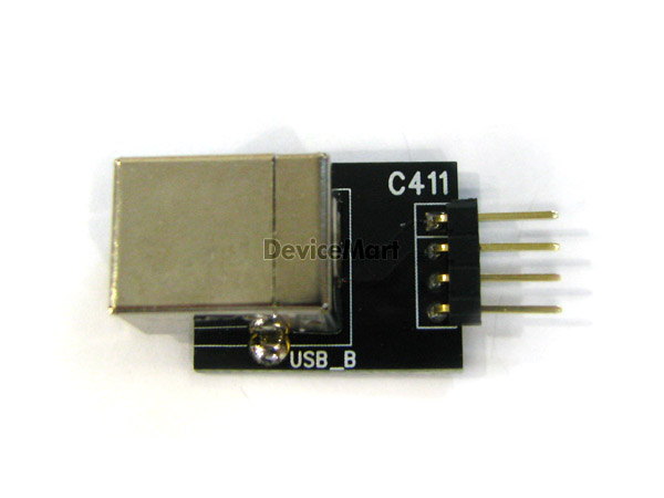 [C411(s)] USB_B type Straight Adapter