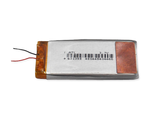 3.7V 리튬 폴리머 배터리 (Li-ion Polymer Rechargeable Battery)