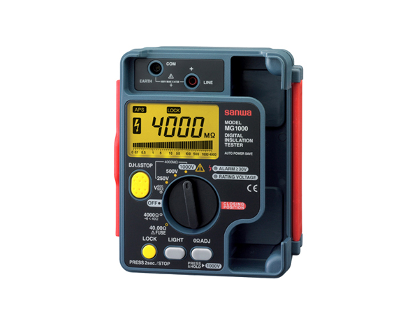 MG1000 절연저항계 DIGITAL INSULATION TESTER