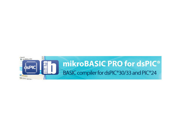 dsPIC30/33 및 PIC24용 mikroBasic PRO [USB Key - mikroBasic PRO for dsPIC30/33 and PIC24]