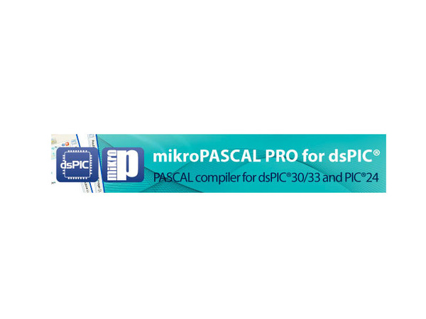 dsPIC30/33 및 PIC24용 컴파일러 mikroPascal PRO [USB Key - mikroPascal PRO for dsPIC30/33 and PIC24]