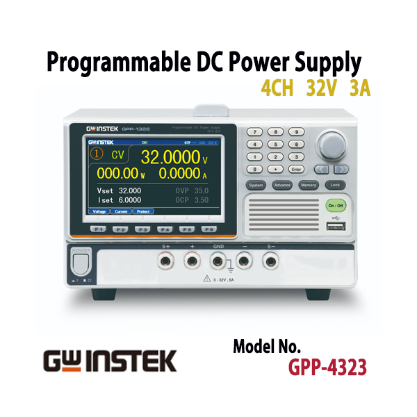 GPP-4323 Programmable DC Power Supply,굿윌인스텍,DC전원공급기 [GPP-4323]