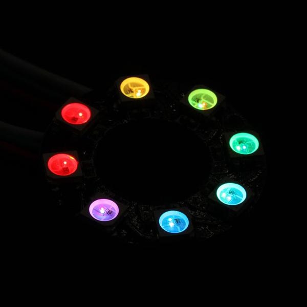 8 RGB Rainbow LED Ring [EF10088]