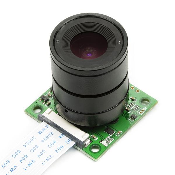 라즈베리파이 Arducam 8MP Sony IMX219 camera module with CS lens 2717 [B0102]