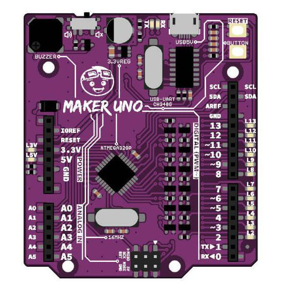 아두이노 우노 호환보드 Maker UNO: Simplifying Arduino for {Education}