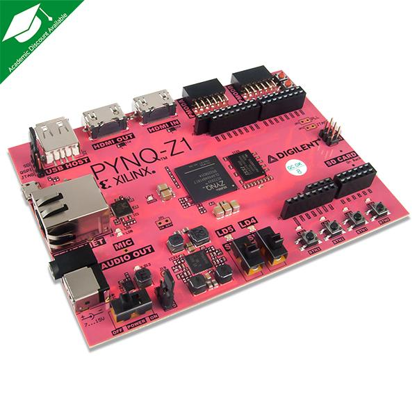 PYNQ-Z1: Python Productivity for Zynq-7000 ARM/FPGA SoC