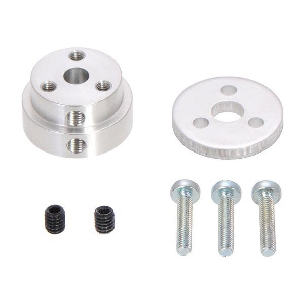 Pololu Aluminum Scooter Wheel Adapter for 5mm Shaft #2673