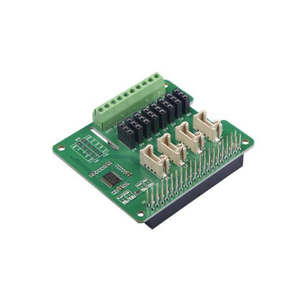8-Channel 12-Bit ADC for Raspberry Pi (STM32F030) [103030280]