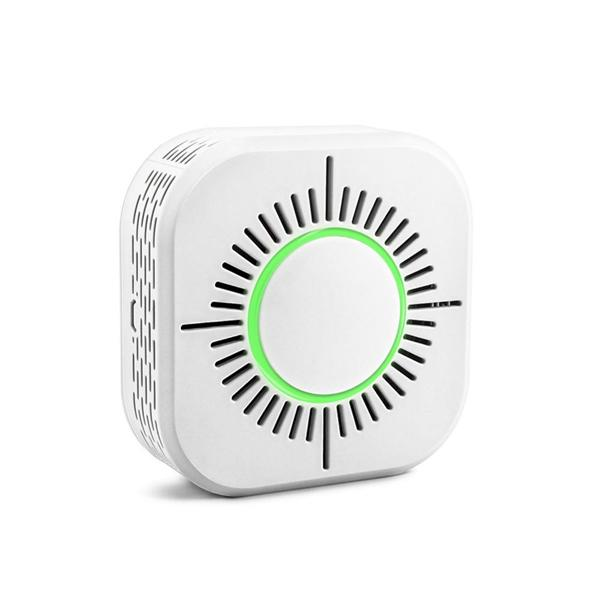 433MHz Wireless Smoke Detector Fire Alarm Protection Security Smart Home Automation Sensors SONOFF can operate in RF Bridge