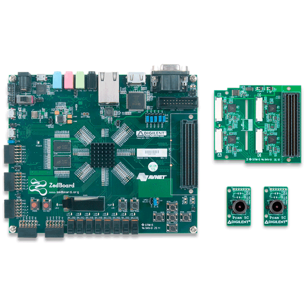 ZedBoard Advanced Image Processing Kit (Dual Pcam Version)