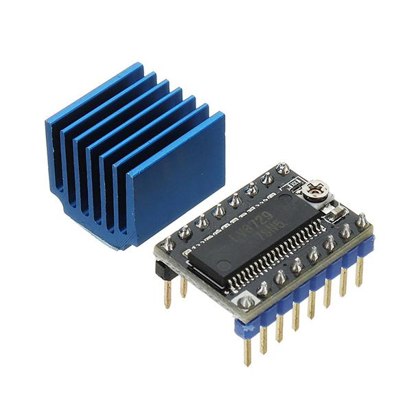 Ultra-silent 4-layer Substrate MKS-LV8729 Stepper Motor Driver Support 6V-36V With Heatsink For 3D Printer