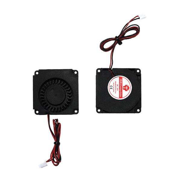 TWO TREES® 2pcs 12V/24V 4010 Blower 40x40x10mm Brushless Cooling Fan with Air Guide Nozzle for 3D Printer - 24V